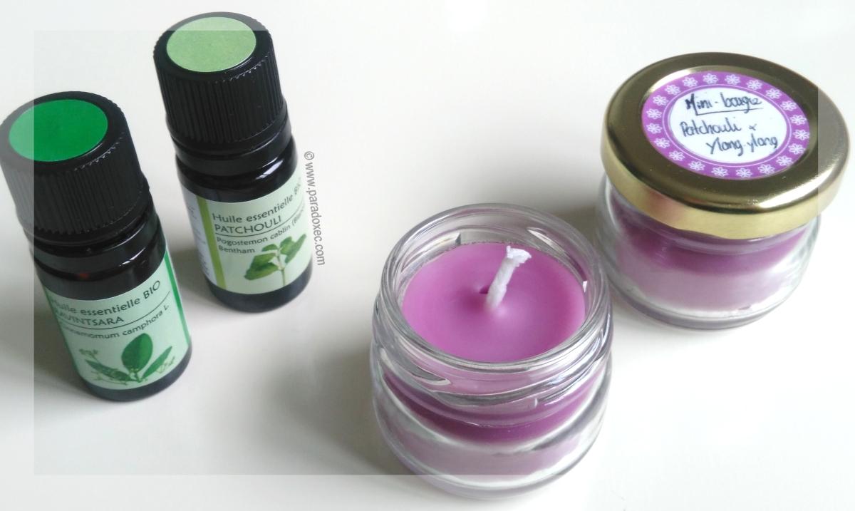 diy fabriquer des minis bougies parfum es le blog du paradoxe vivant. Black Bedroom Furniture Sets. Home Design Ideas