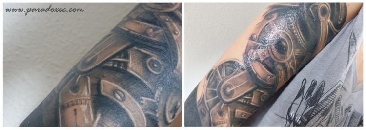 miel de thym sur tatouage